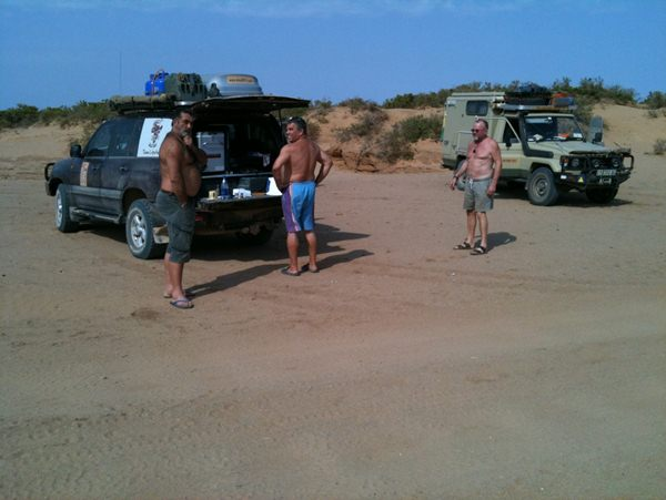 Brunch time in the desert and deciding where to go