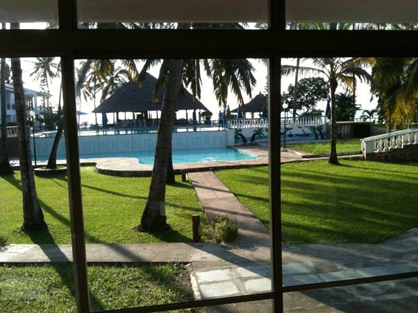 Nyala Beach resort Mombassa
