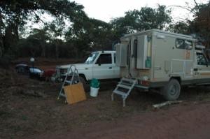 Quarry bush camp