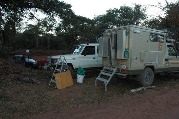 Quarry bush camp