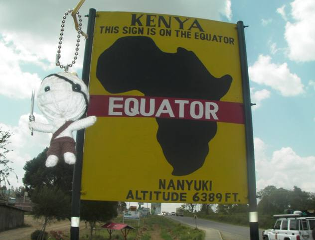 ELAO NATNAS on the Equator