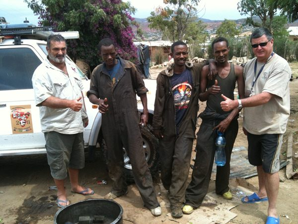 and the operation was completed some 3 hours later to the satisfaction of Rene and Andre