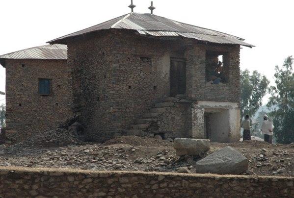 Axum  stone houses