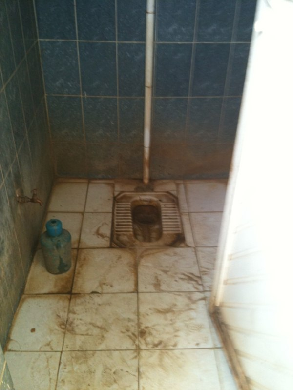 Forgetting the bathroom facilities of the Aswan Dam Ferry
