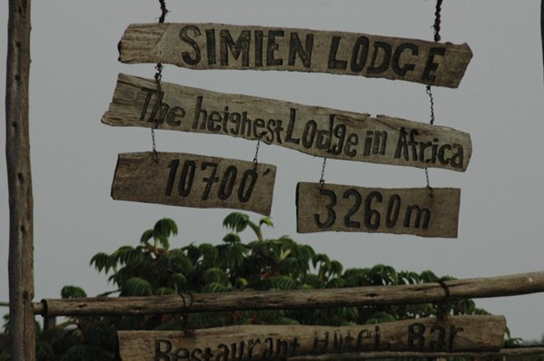 The highest Lodge in Africa