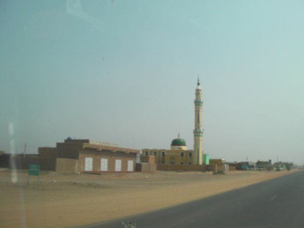 on the way to Khartoum