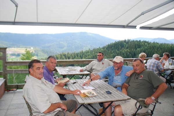 Relaxing in the black forest