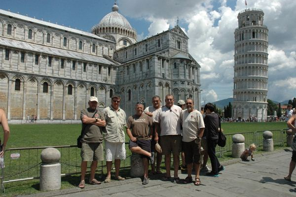 The Elao brotherhood in Pisa ………….