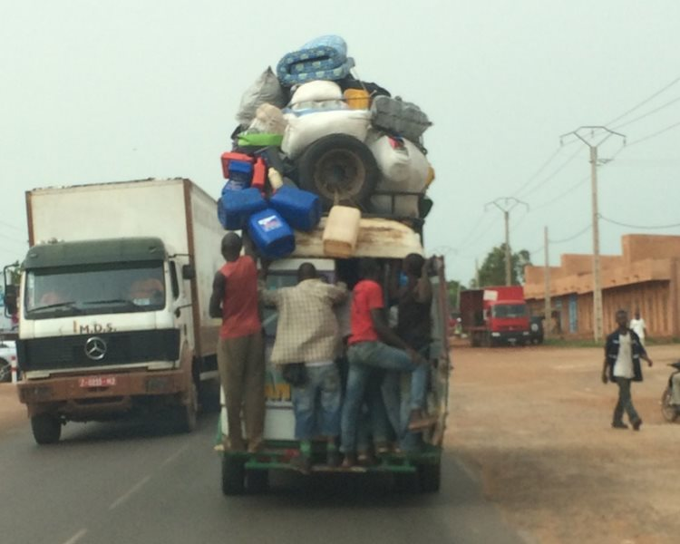 Africans are great in increasing the carrying capacity of almost any vehicle