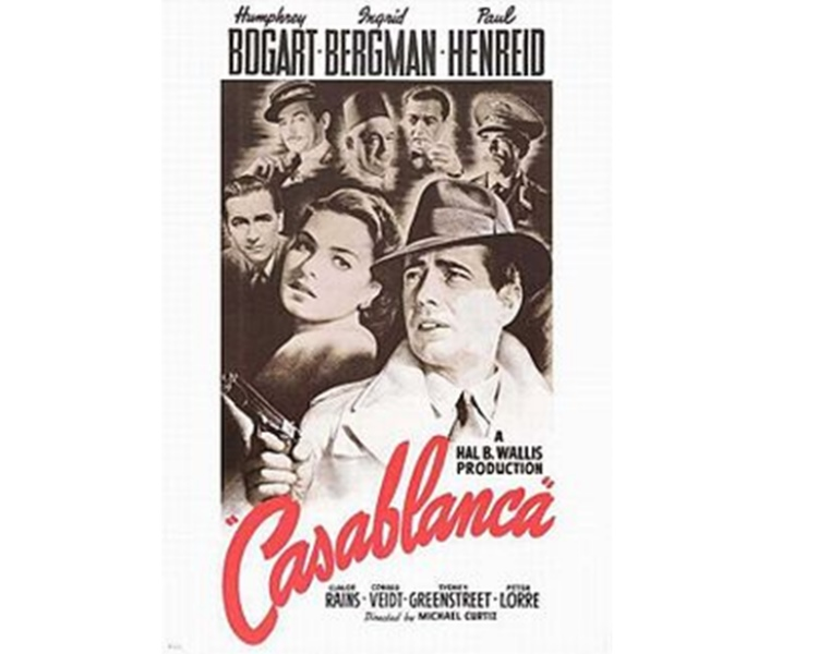 Hotel Casablanca which was screened way back in 1942