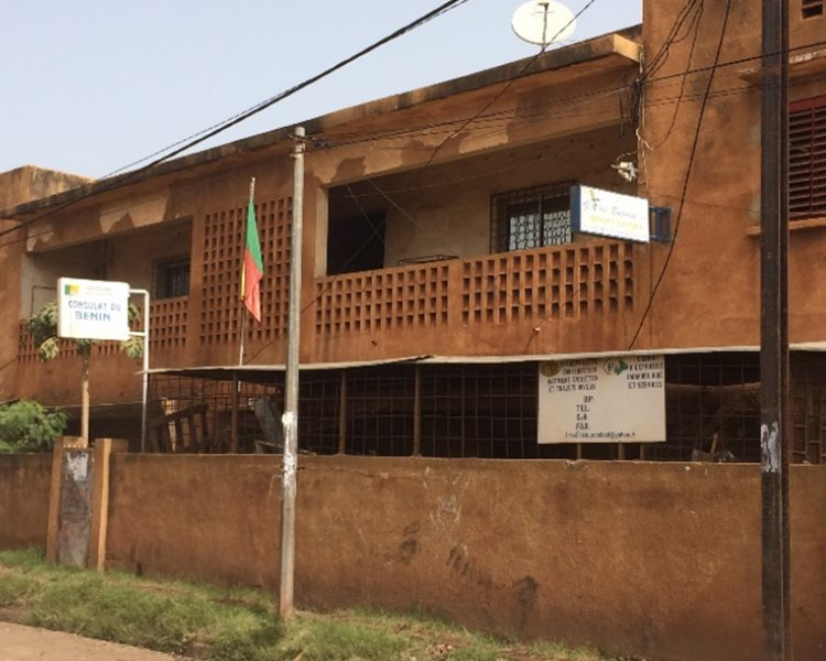 In Africa as these embassies have a rather low profile view
