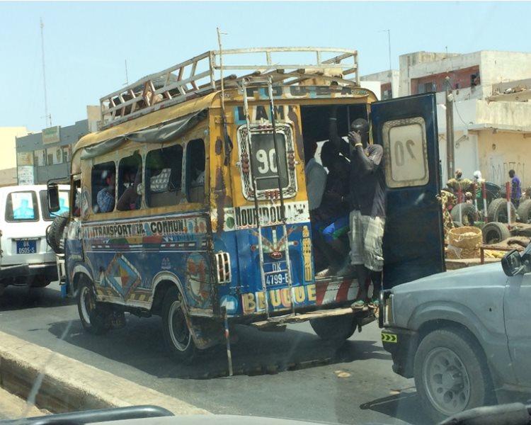 Stau in Dakar