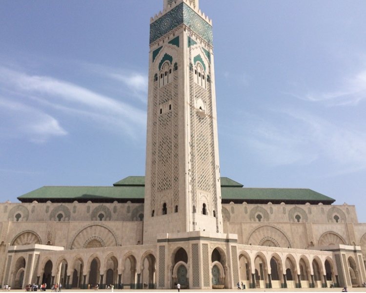 great mosque in Casablanca