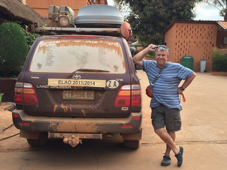 Another great day driven through West Africa