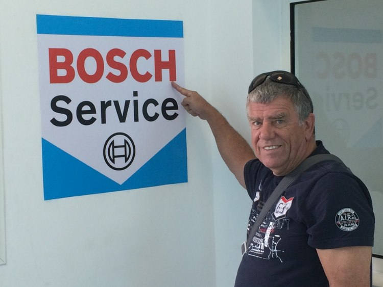 Boschie all over …. Great service….