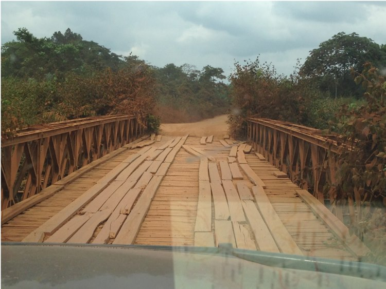 Bridges in Africa….