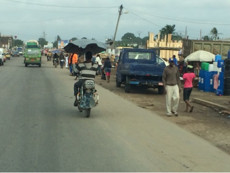 The new craze in Douala – Cabrio style bikes….