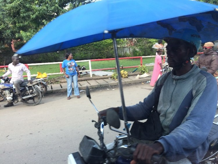 The new craze in Douala – Some more Cabrio style bikes