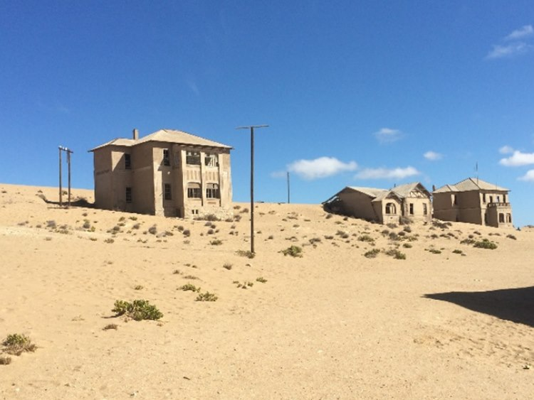 Ghost town near Luederitz