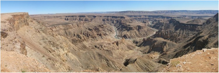 So off towards the great Fish River Canyon which is indeed a great site to see