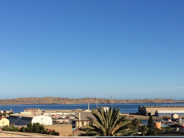 and the great bay of Luederitz