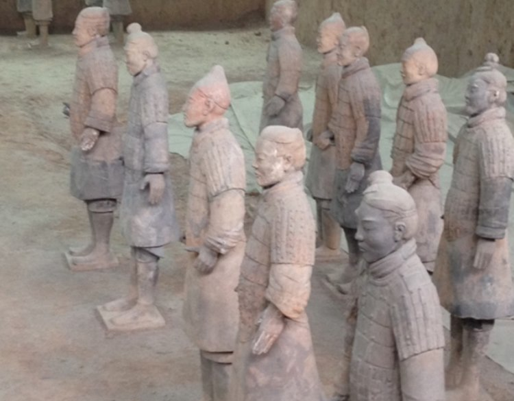 Huangs terracotta army 2