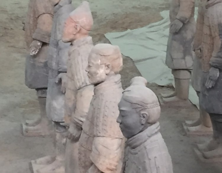 Huangs terracotta army 3