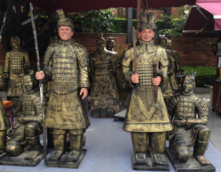 Lipstick warriors join terracotta soldiers….
