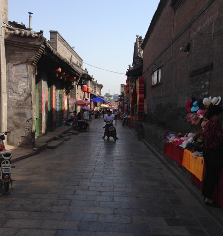 The streets of Pingyuang were empty when Andre and Willy left early in the morning…