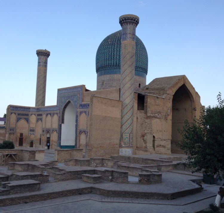 The Guri Amir mausoleum in Samarkand