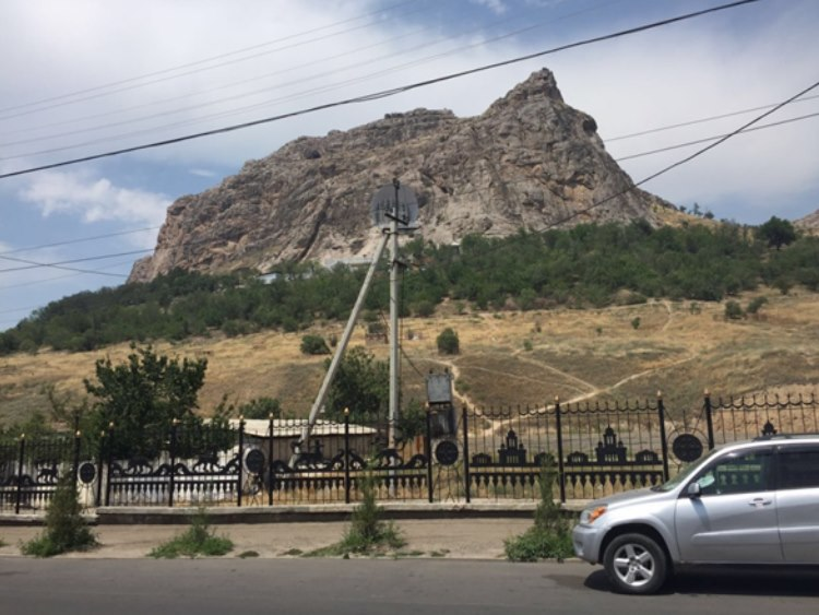 The Sulayman Mountain