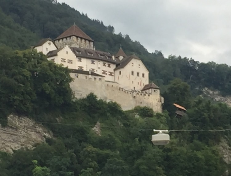 The home of the Prince of Lichtenstein
