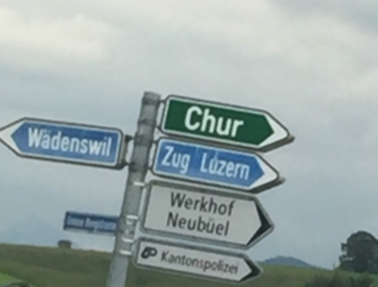 a town called Waedenswil