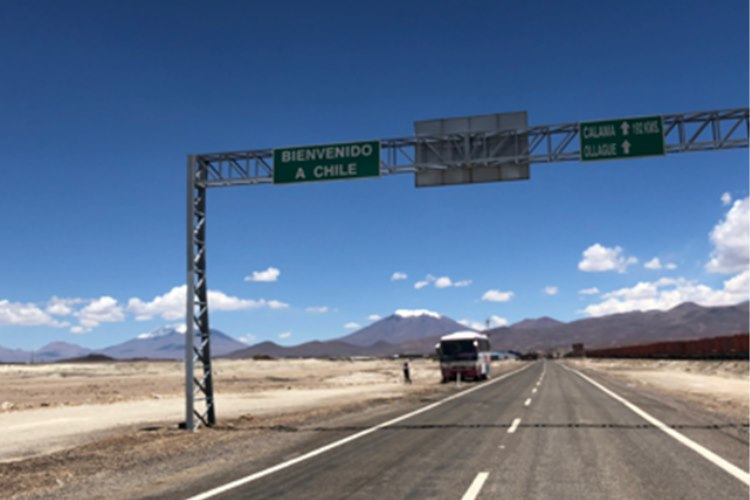 Day 38 – 22nd February – Uyuni(Bolivia) to Antofagasta (Chile
